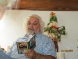 Libor Hofman předčítá ze své Knížky foto V_ Novotn