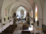Libošovice kostel sv_ Prokopa pohled z kůru foto V
