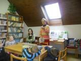 MŠ na první návštěvě knihovny